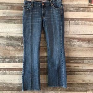 GAP curvy low rise jeans size 12 long